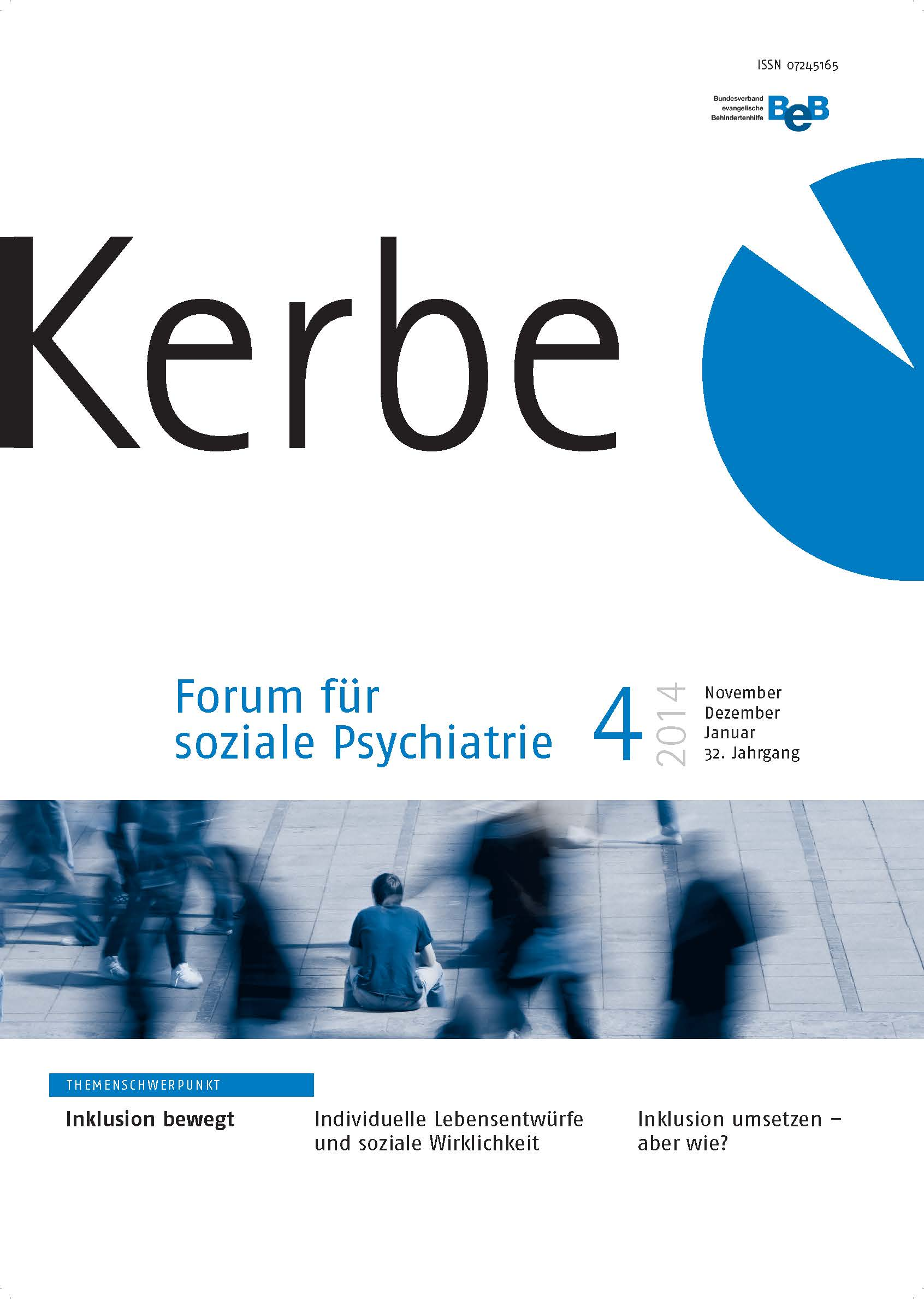 """Cover """"Kerbe"""" Zeitschrift 2014/4"""