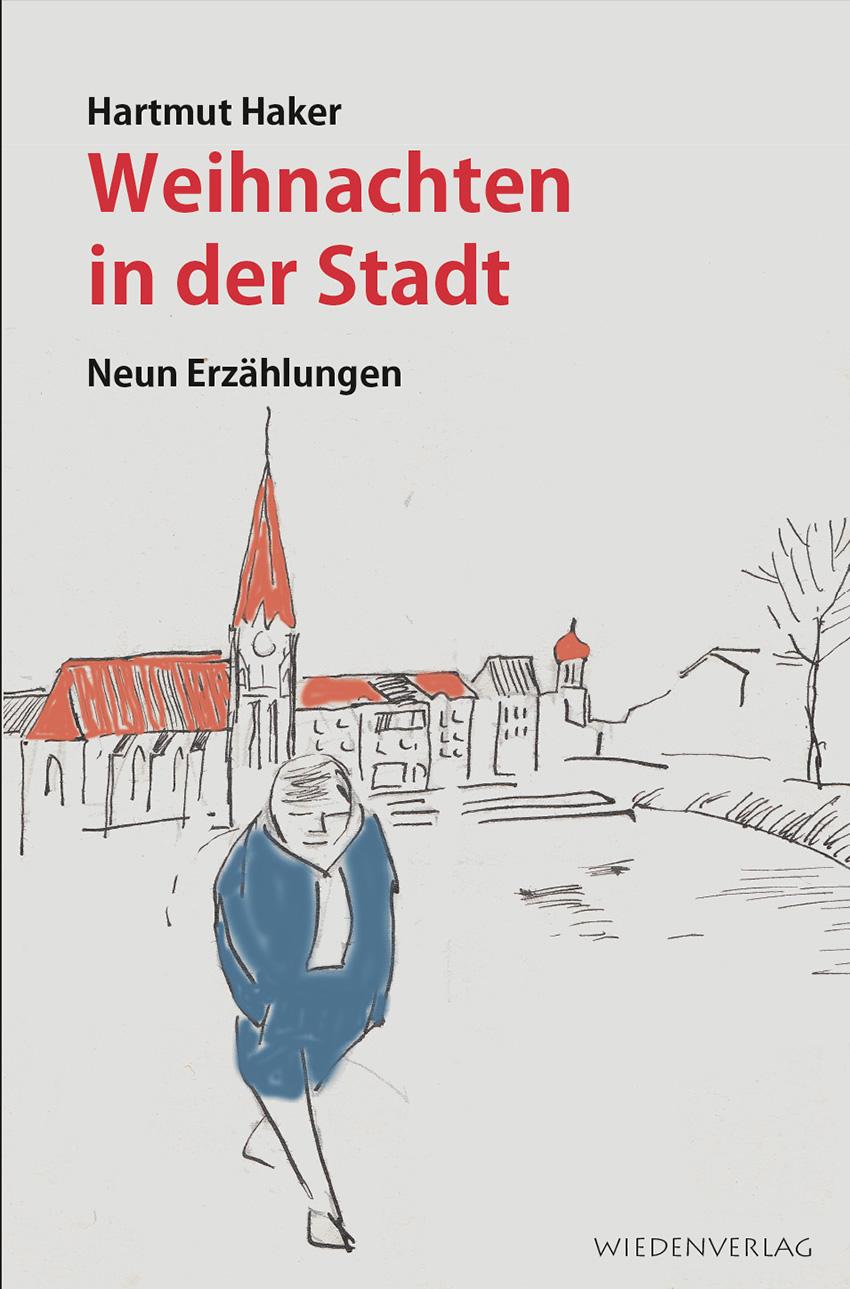 """Buchcover """"Weihnachten in der Stadt"""" von Hartmut Haker"""