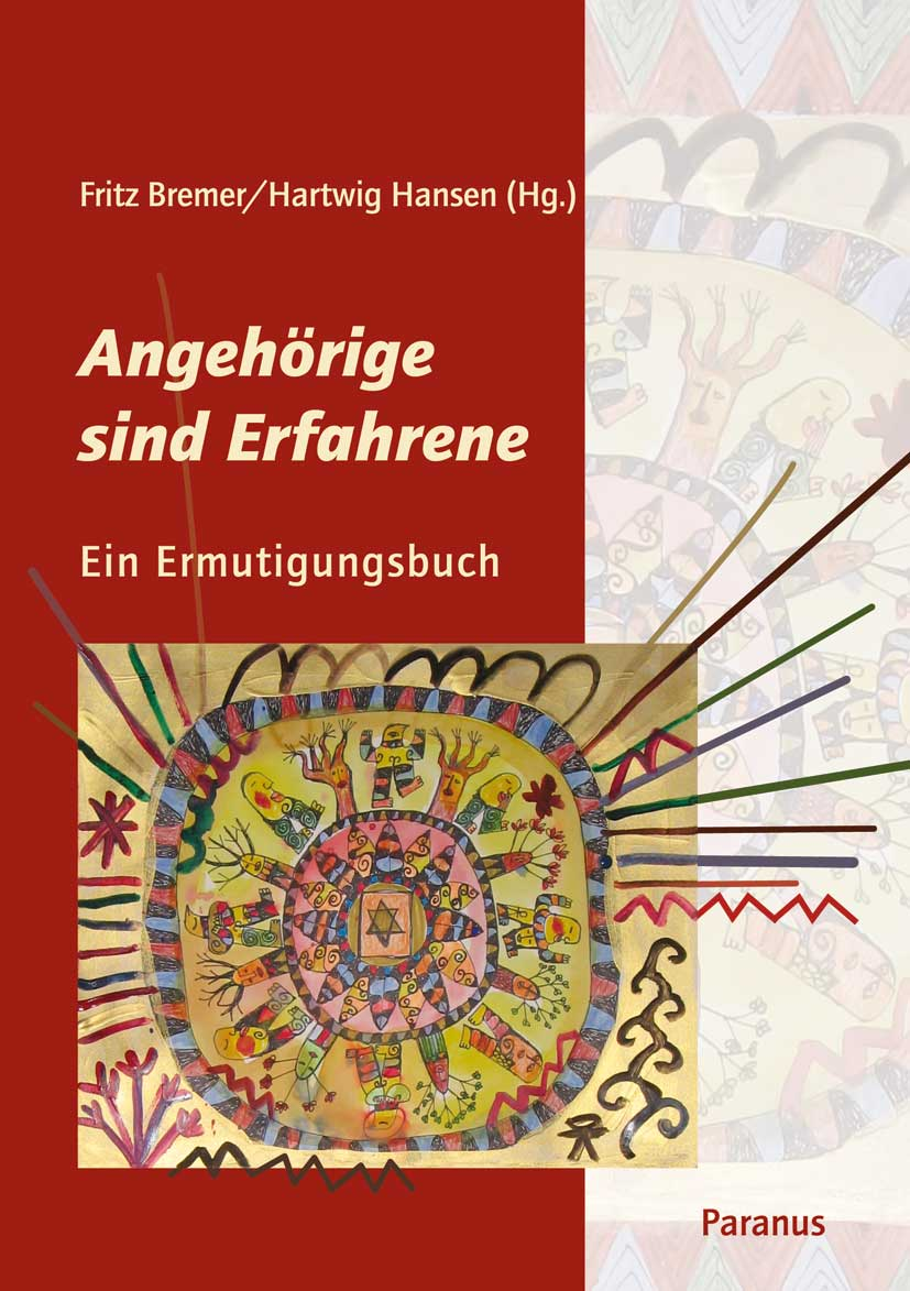 "Buchcover ""Angehörige sind Erfahrene"" im Paranus Verlag"