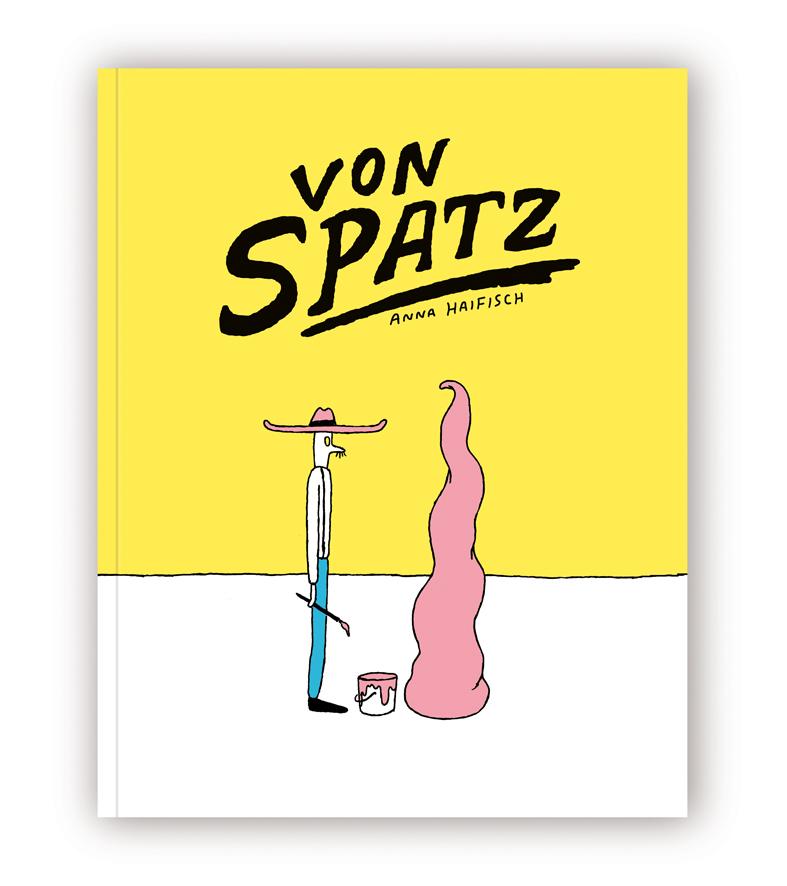 """Buchcover """"Von Spatz"""" von Anna Haifisch"""