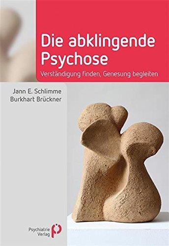 """Buchcover """"Die abklingende Psychose"""" von Schlimme und Brückner im Psychiatrie Verlag"""