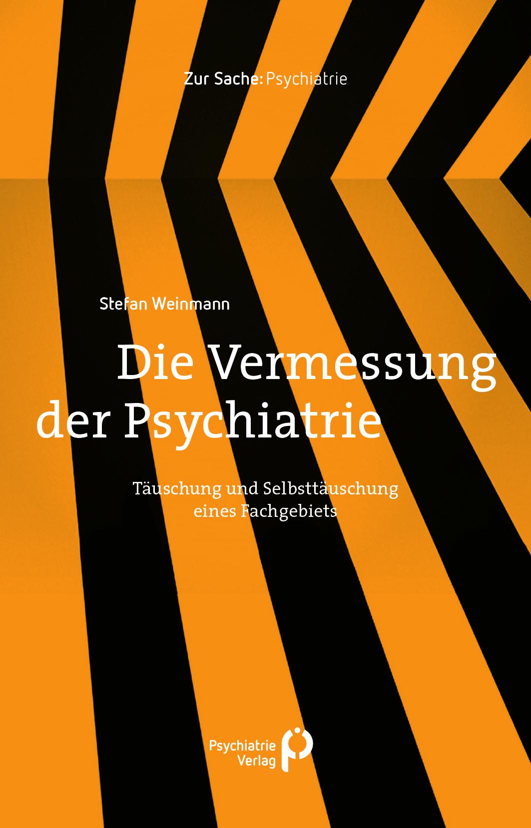 """Buchcover """"Die Vermessung der Psychiatrie"""" von Weinmann im Psychiatrie Verlag"""